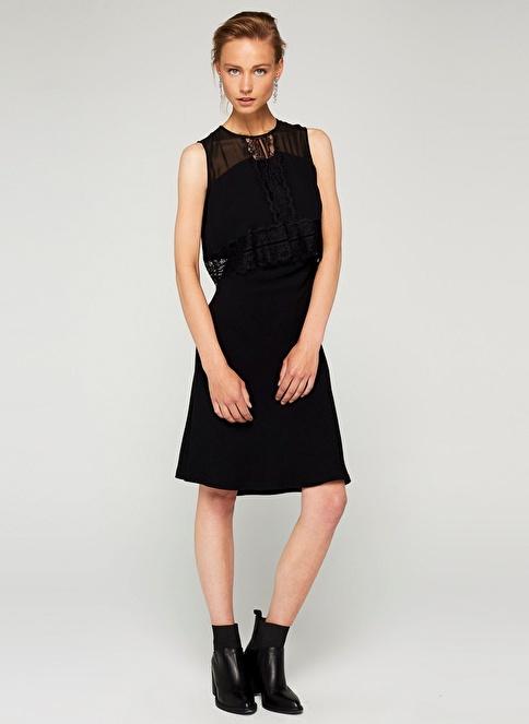 Ipekyol Elbise Siyah